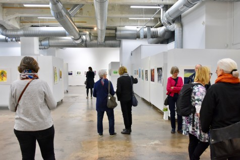 The 20th Anniversary Exhibition of the Finnish Watercolour Society at The Cable Factory