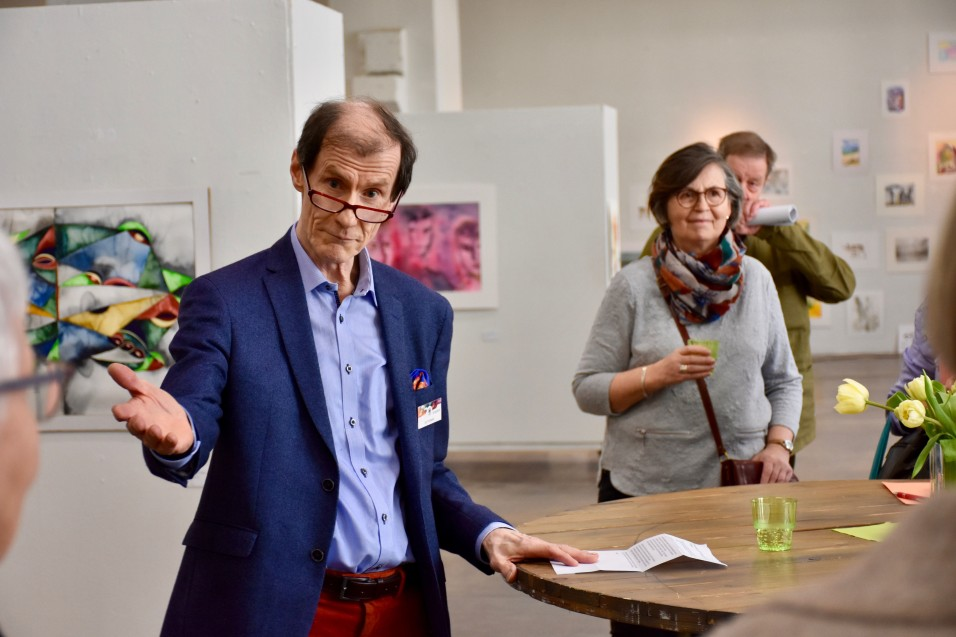 Ulf Nyman speech at the 20th Anniversary Exhibition of the Finnish Watercolour Society at The Cable Factory